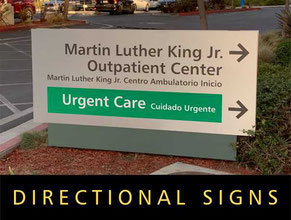Medical Office Directional Signs