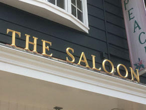 Saloon Dimensional Letter Building Sign