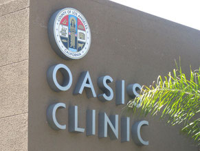 Oasis Medical Office Wall Sign