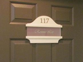 Door Suite Plaque Office Sign