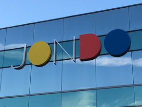 Jondo Dimensional Building Sign