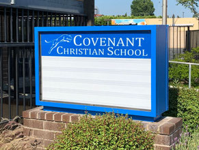 Covenant Monument Sign Refurbishment