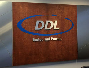 DDL 3D Lobby Wall Office Sign