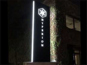 Hyperion LED Sign
