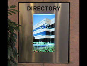Digital Directory Office Sign