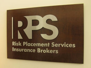 RPS 3D Lobby Wall Office Sign