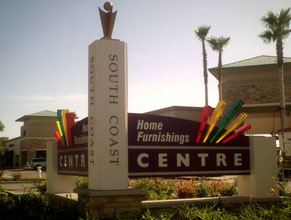 Home Furnishings Monument Sign