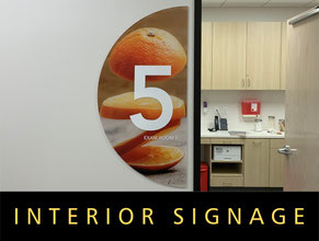 Medical Office Interior Signage