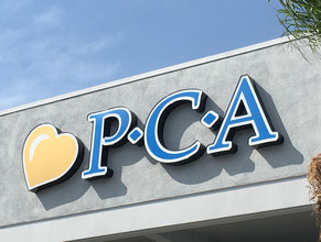 PCA Medical Office Wall Sign