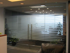 Conference Privacy Glass Graphics