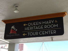 Queen Mary Directional Sign 1
