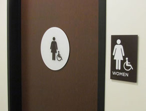 Womens Restroom Signs
