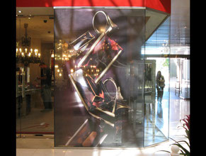 Baccarat Retail Sign