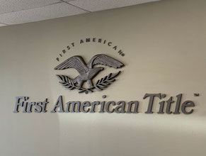 First American Lobby Display