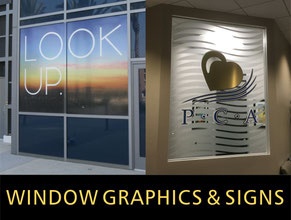 Window Graphics & Window Signs