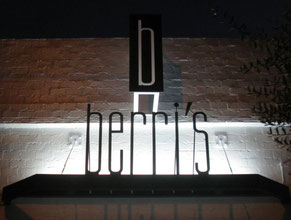berris LED Sign