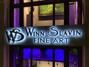 Winn Slavin Halo Channel Letter Sign