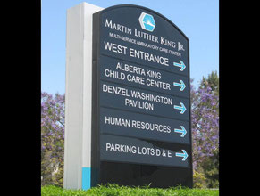 MLK Pylon Sign