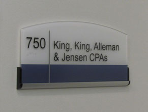 King King Suite Plaque ADA Sign