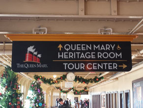 Queen Mary Directional Sign 2