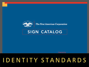 Corporate Sign Standards & Identity Standards