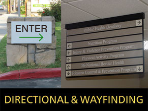 Directional Signs & Wayfinding Signage