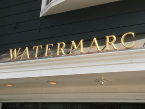 Watermark Dimensional Letter Building Sign