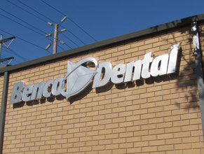 Benco Dental Business Sign
