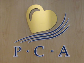 PCA Door Medical Office Lobby Sign