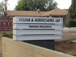Kelfer & Associates Monument Sign