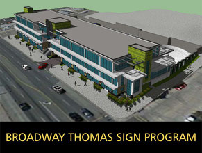 Broadway Thomas Sign Program