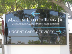 MLK Directional Sign 2