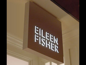 Eileen Fisher Store Sign
