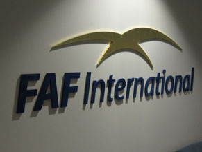 FAF 3D Lobby Wall Office Sign