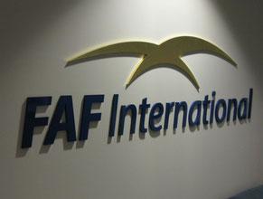 FAF 3D Lobby Wall Office Sign