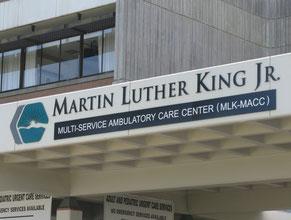 MLK Medical Office Wall Sign