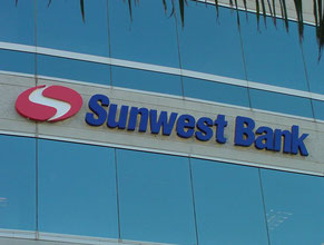 Sunwest Channel Letter Wall Sign