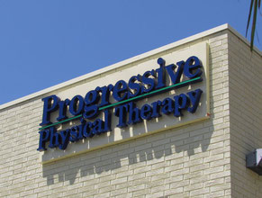 Progressive Medical Office Wall Sign