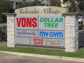 Redondo Village Monument Sign