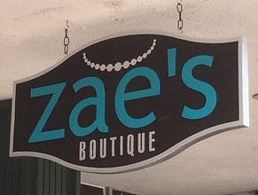 Zae's Wood Sign