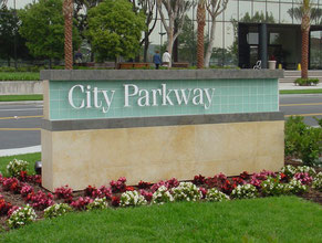 City Parkway Monument Sign