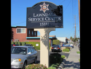 Lawndale Pylon Sign
