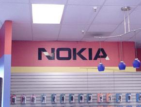 Nokia Store Sign
