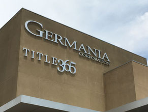 Germania Dimensional Letter Building Signs