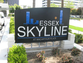 Essex Skyline Monument Sign