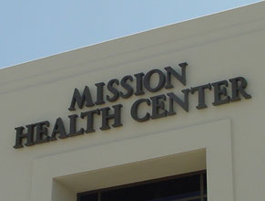 Mission Medical Office Wall Sign