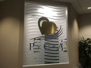 PCA 3D Lobby Wall Office Sign