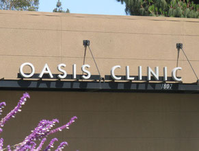 Oasis Dimensional Letter Building Sign