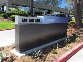 Carmel Point Monument Sign
