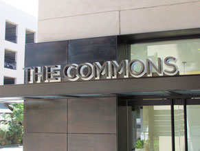 Commons Channel Letter Wall Sign